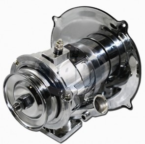 Chrome Alternator Kit - 60 Amp