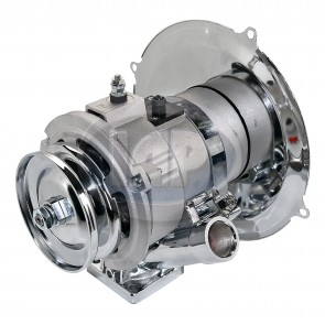 Alternator Kit - 60 Amp; Chrome Components