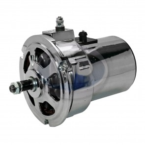 Alternator - Chrome; 75 Amp; High Output