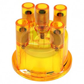 Yellow/Amber Distributor Cap Replaces 03010/1 235 522 056 ( Bulk Pack )