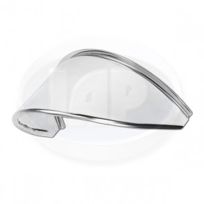 Headlight Eyebrow - Stainless Steel
