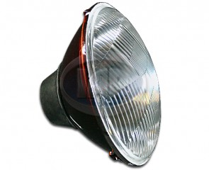 Convex 7In H4 Halogen Headlamp 12V 60W/55W