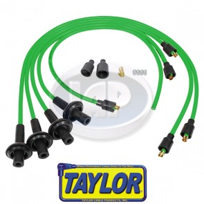 Taylor 8mm Lime Spiro-Pro Ignition Wire Set - Display Pack