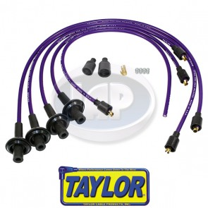 Taylor 8mm Purple Spiro-Pro Ignition Wire Set - Display Pack