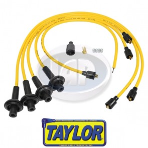 Taylor 8mm Yellow Spiro-Pro Ignition Wire Set - Display Pack