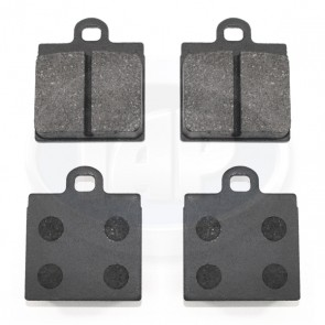 Brake Pad Set - Single Pin; Organic