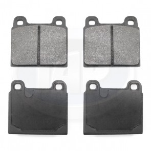 Brake Pad Set - Dual Pin; Organic