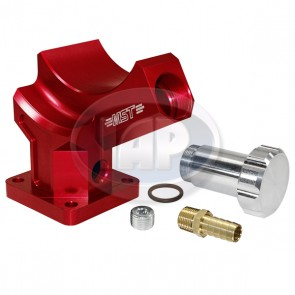 MST Billet Alternator/Generator Stand - Anodized Red