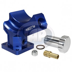 MST Billet Alternator/Generator Stand - Anodized Blue