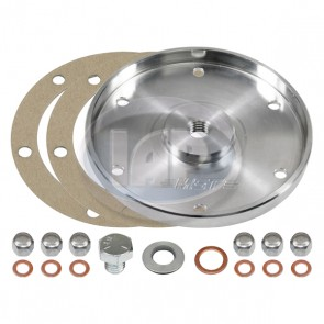 MST Billet Oil Sump Cover Plate Plate - Aluminum Finish