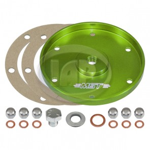 MST Billet Oil Sump Cover Plate - Anodized Green