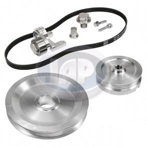 MST Serpentine Pulley System Standard Aluminum Finish