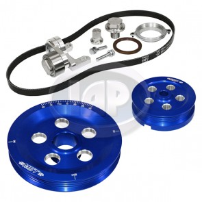 MST Matador Serpentine Pulley System Sand Seal Anodized Blue