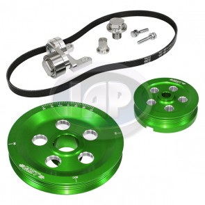 MST Matador Serpentine Pulley System Standard Anodized Green