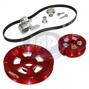 MST Renegade Serpentine Pulley System Standard Anodized Red