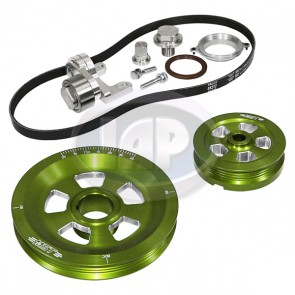 MST Renegade Serpentine Pulley System Sand Seal Anodized Green