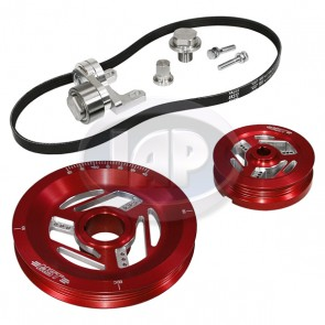 MST Raptor Serpentine Pulley System Standard Anodized Red