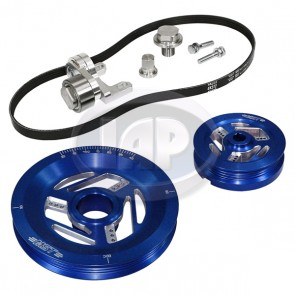 MST Raptor Serpentine Pulley System Standard Anodized Blue