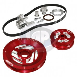 MST Excalibur Serpentine Pulley System Sand Seal Anodized Red
