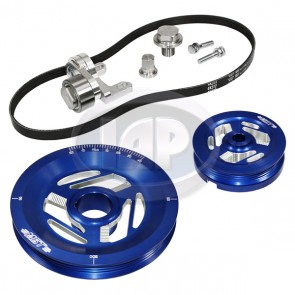 MST Excalibur Serpentine Pulley System Standard Anodized Blue