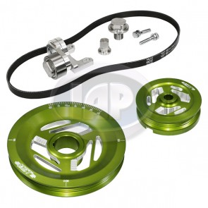 MST Excalibur Serpentine Pulley System Standard Anodized Green