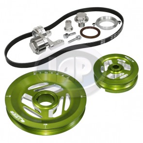 MST Excalibur Serpentine Pulley System Sand Seal Anodized Green